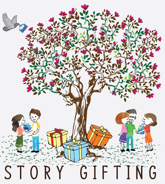 Story Gifting Logo - individuelle Geschenke