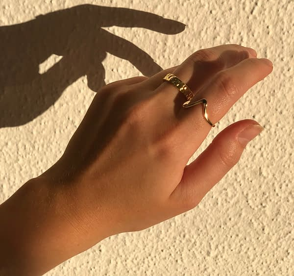 Handgemachter Schmuck Signature Ring