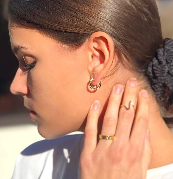 Handgemachter Schmuck Base Ohrringe