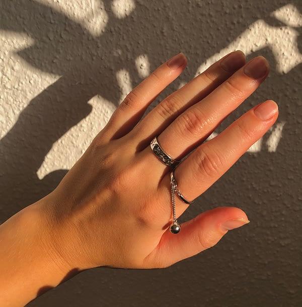 Handgemachter Schmuck Identity Ring
