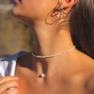 Handgemachter Schmuck Pearl Halskette