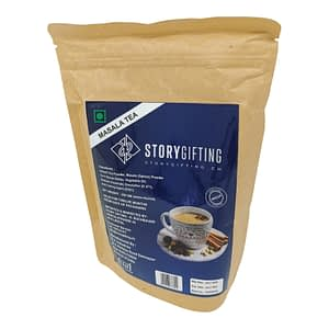 Masala Tee von Storygifting Verpackung von vorne